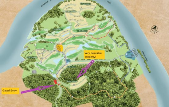 Build your dream home in beautiful gated community with golf course, marina and more!