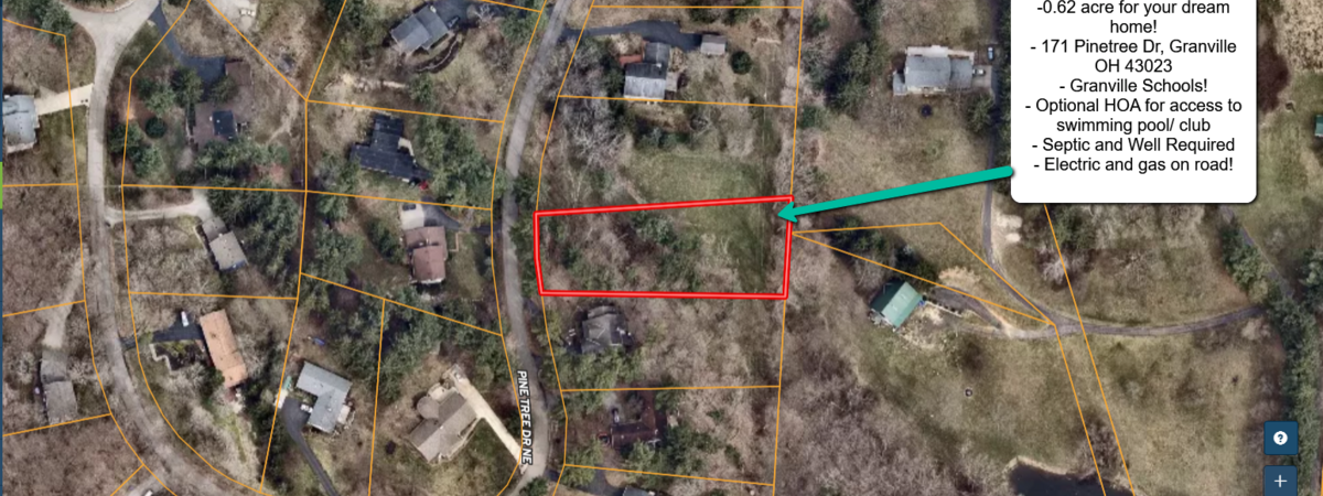 Lot to build your dream home!